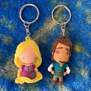 4 Disney Keychains